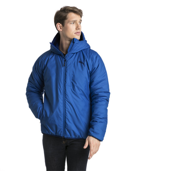 Men's warmCELL Padded Jacket, Strong Blue, large