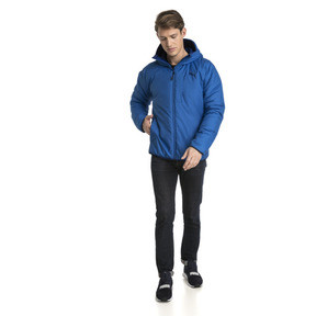 Thumbnail 5 of Men's warmCELL Padded Jacket, Strong Blue, medium