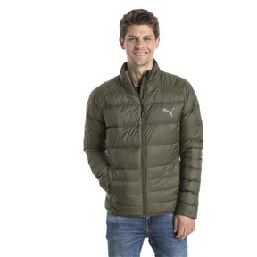 Thumbnail 2 of Men's PWRWARM X packLITE 600 Down Jacket, Forest Night, medium