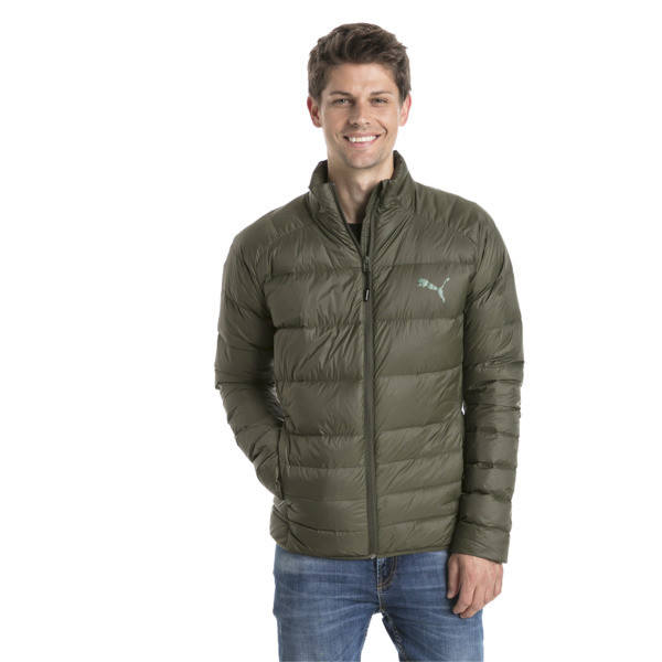 Men's PWRWARM X packLITE 600 Down Jacket, Forest Night, large