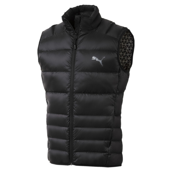 Men's PWRWARM X packLITE 600 Down Gilet, Puma Black, large