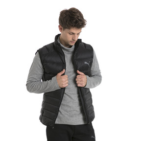 Thumbnail 2 of Men's PWRWARM X packLITE 600 Down Gilet, Puma Black, medium