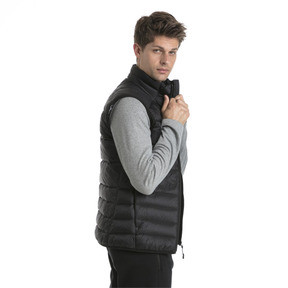 Thumbnail 3 of Men's PWRWARM X packLITE 600 Down Gilet, Puma Black, medium