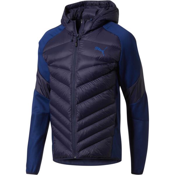 Hybrid 600 Down Men's Jacket, Peacoat, large