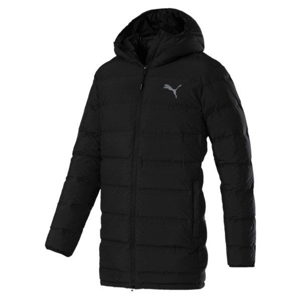 Men's Downguard 600 Down Jacket, Puma Black, large