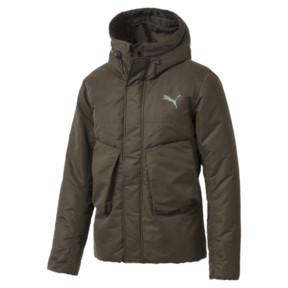 Thumbnail 1 of StreetStyle 480 Hooded Down Jacket, Forest Night, medium