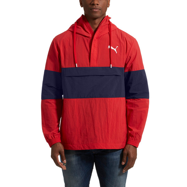 1/2 ZIP Windbreaker, 12, large