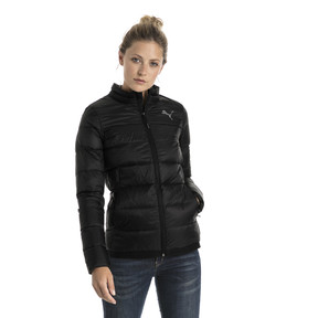 Thumbnail 2 of Women's PWRWARM X packLITE 600 Down Jacket, Puma Black, medium