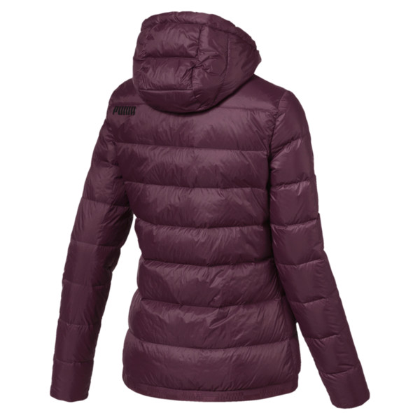 Women's PWRWARM X packLITE 600 Hooded Down Jacket, Fig, large