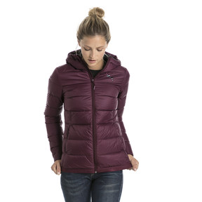 Thumbnail 2 of Women's PWRWARM X packLITE 600 Hooded Down Jacket, Fig, medium