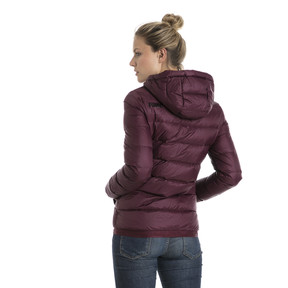 Thumbnail 3 of Women's PWRWARM X packLITE 600 Hooded Down Jacket, Fig, medium