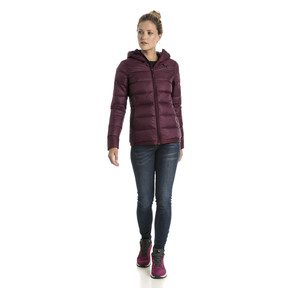 Thumbnail 5 of Women's PWRWARM X packLITE 600 Hooded Down Jacket, Fig, medium
