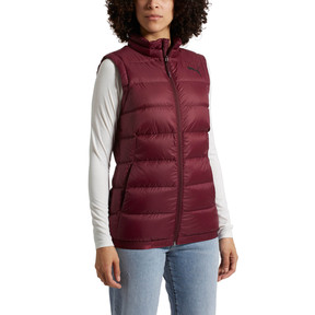 Thumbnail 2 of Women's PWRWARM X packLITE 600 Down Gilet, Fig, medium