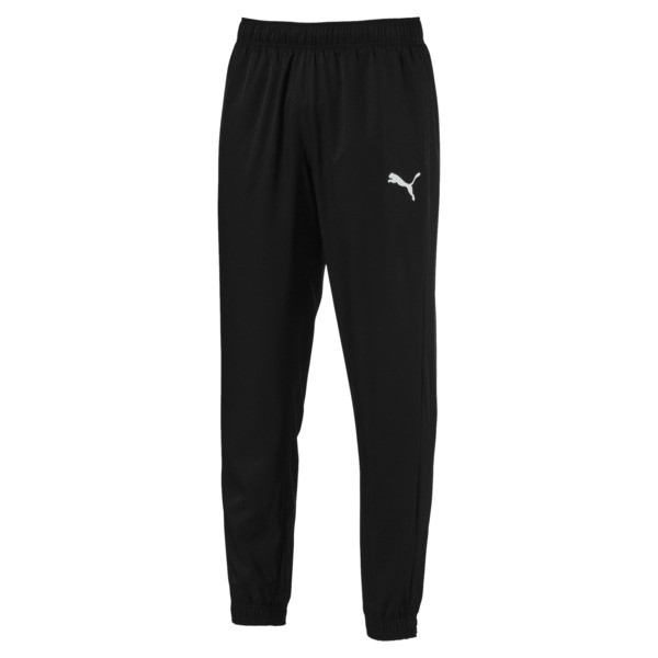 Active Woven Men's Sweatpants, Puma Black, large
