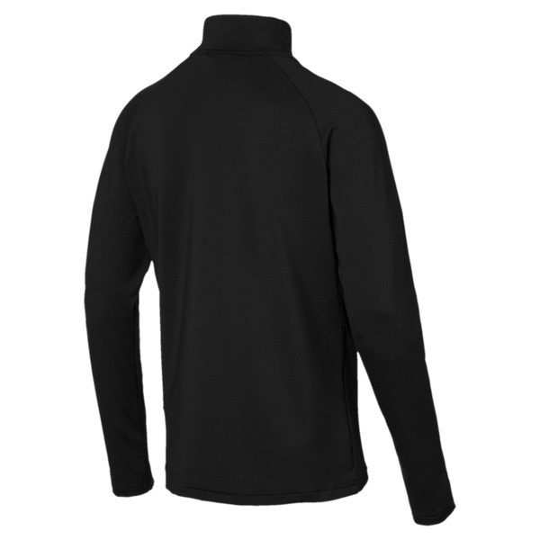 Active Herren Half Zip Sweatshirt, Puma Black, large