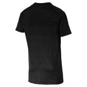 Thumbnail 4 of Evostripe evoKNIT Men's Seamless Tee, Puma Black, medium