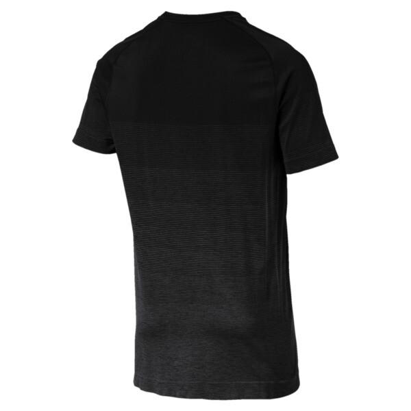 Evostripe evoKNIT Men's Seamless Tee, Puma Black, large