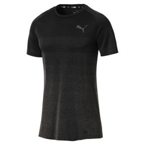 Thumbnail 1 of Evostripe evoKNIT Men's Seamless Tee, Puma Black, medium