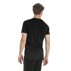 Thumbnail 3 of Evostripe evoKNIT Men's Seamless Tee, Puma Black, medium