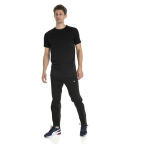Thumbnail 5 of Evostripe evoKNIT Men's Seamless Tee, Puma Black, medium