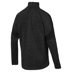 Thumbnail 3 of Evostripe Jacket, Cotton Black-heather, medium