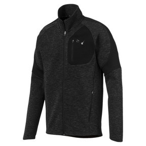 Thumbnail 1 of Evostripe Jacket, Cotton Black-heather, medium