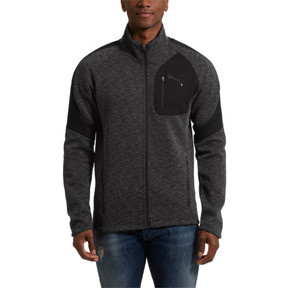 Thumbnail 2 of Evostripe Jacket, Cotton Black-heather, medium