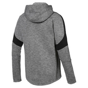 Thumbnail 3 of Evostripe Full Zip Men's Hoodie, Medium Gray Heather, medium