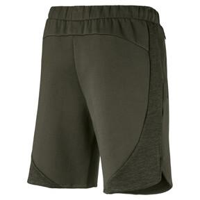 Thumbnail 4 of Active Men's Evostripe Shorts, Forest Night, medium