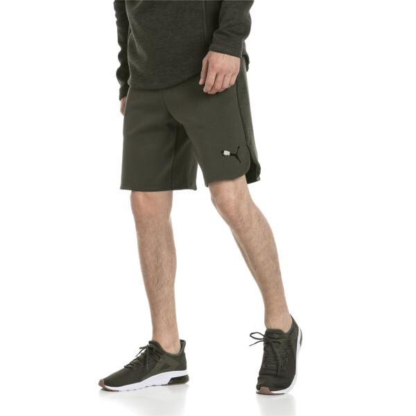 Active Men's Evostripe Shorts, Forest Night, large