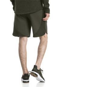 Thumbnail 3 of Active Men's Evostripe Shorts, Forest Night, medium