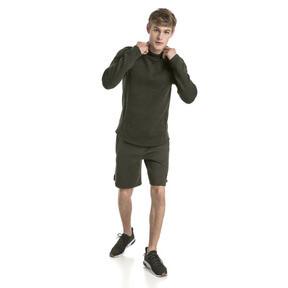 Thumbnail 5 of Active Men's Evostripe Shorts, Forest Night, medium