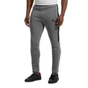 Thumbnail 2 of Evostripe Men's Pants, Medium Gray Heather, medium