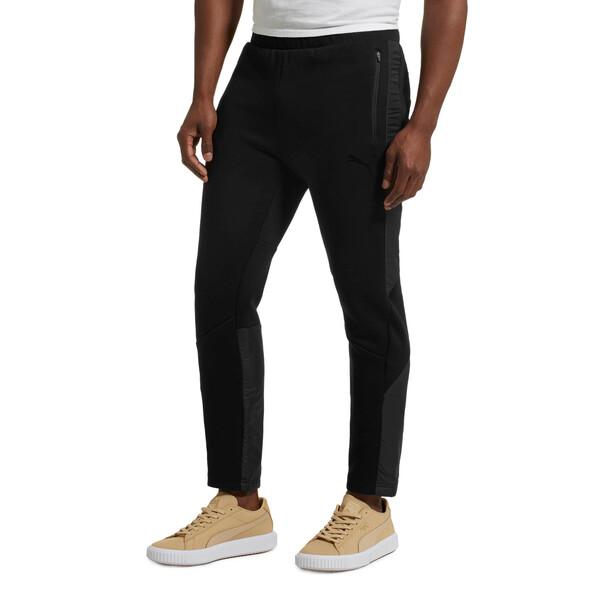 Active Men's Evostripe Water-Repellent Pants, Puma Black, large