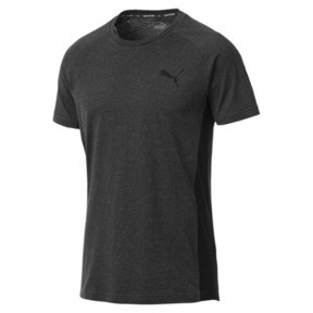 Thumbnail 1 of Active Evostripe Warm Men's Tee, Dark Gray Heather, medium
