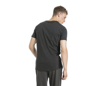 Thumbnail 3 of Active Evostripe Warm Men's Tee, Dark Gray Heather, medium