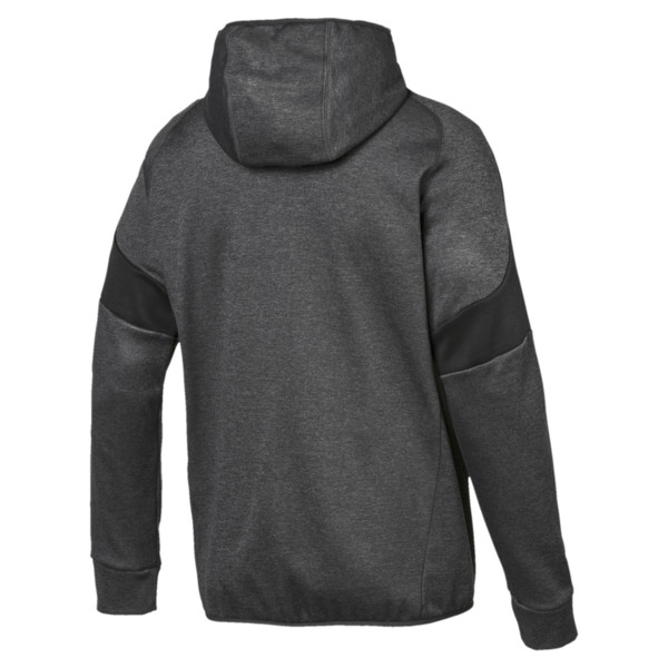 Evostripe Warm Full Zip Men's Hoodie, 07, large