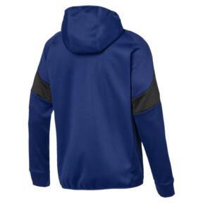 Thumbnail 3 of Evostripe Warm Full Zip Men's Hoodie, Sodalite Blue, medium