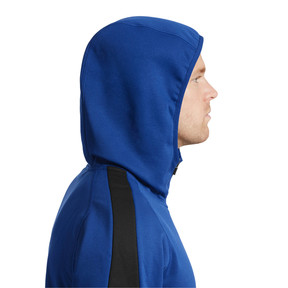 Thumbnail 4 of Evostripe Warm Full Zip Men's Hoodie, Sodalite Blue, medium