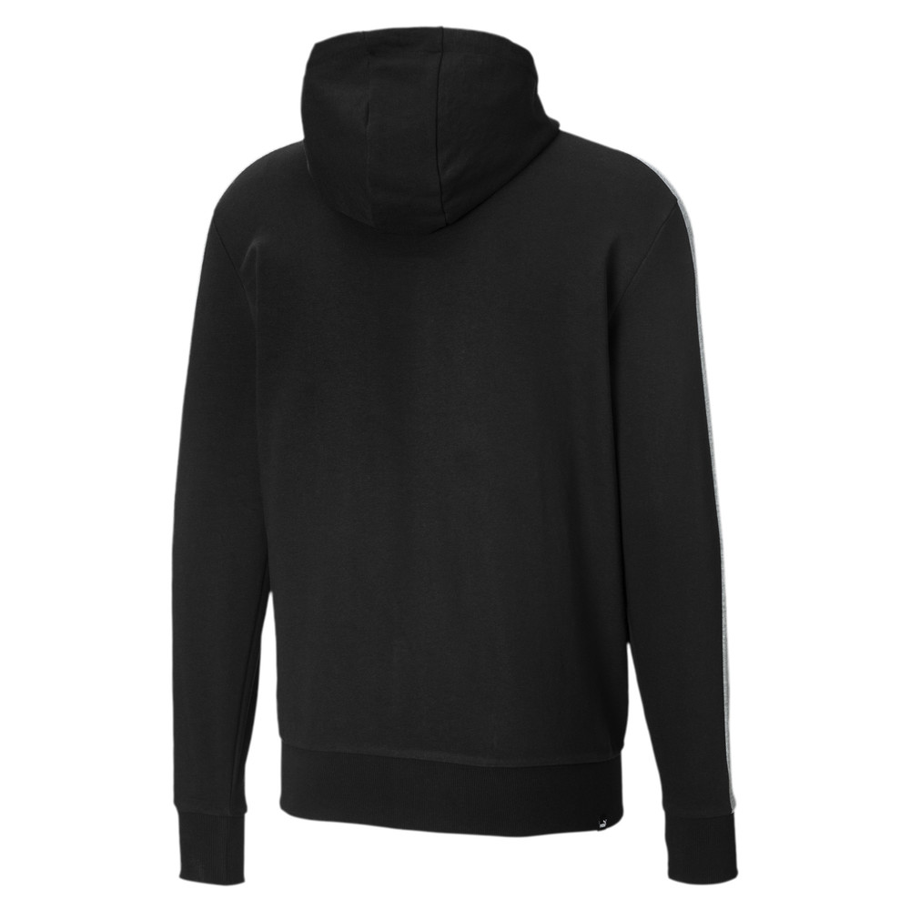 PUMA - female - Толстовка Contrast FZ Hoody FT M – Cotton Black –, Черный