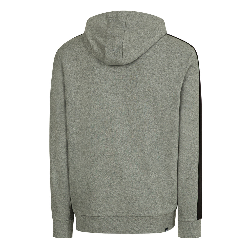 PUMA - female - Толстовка Contrast FZ Hoody FT M – Medium Gray Heather 01 –, Серый