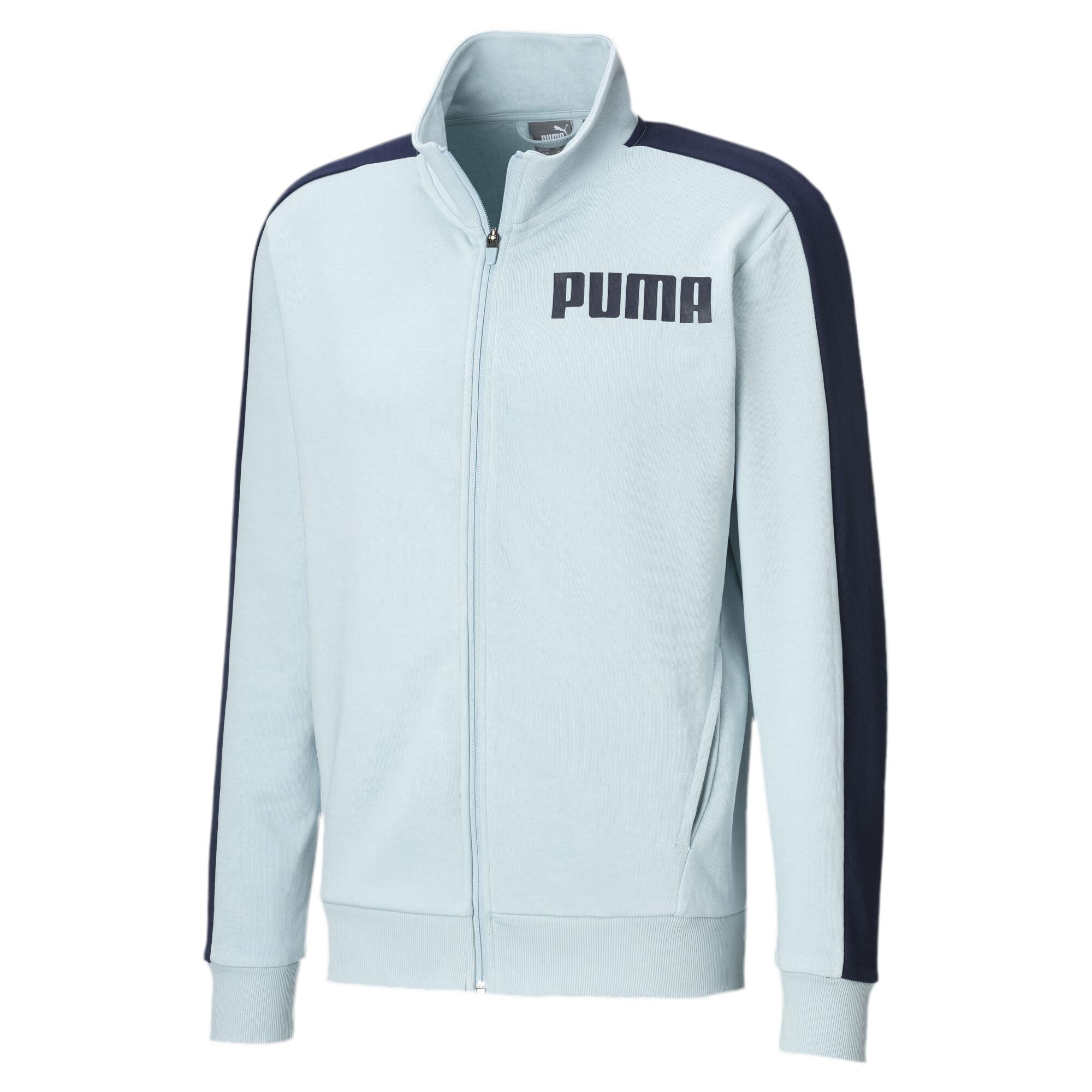 Details zu PUMA Contrast Herren Trainingsjacke Männer Sweat Basics Neu