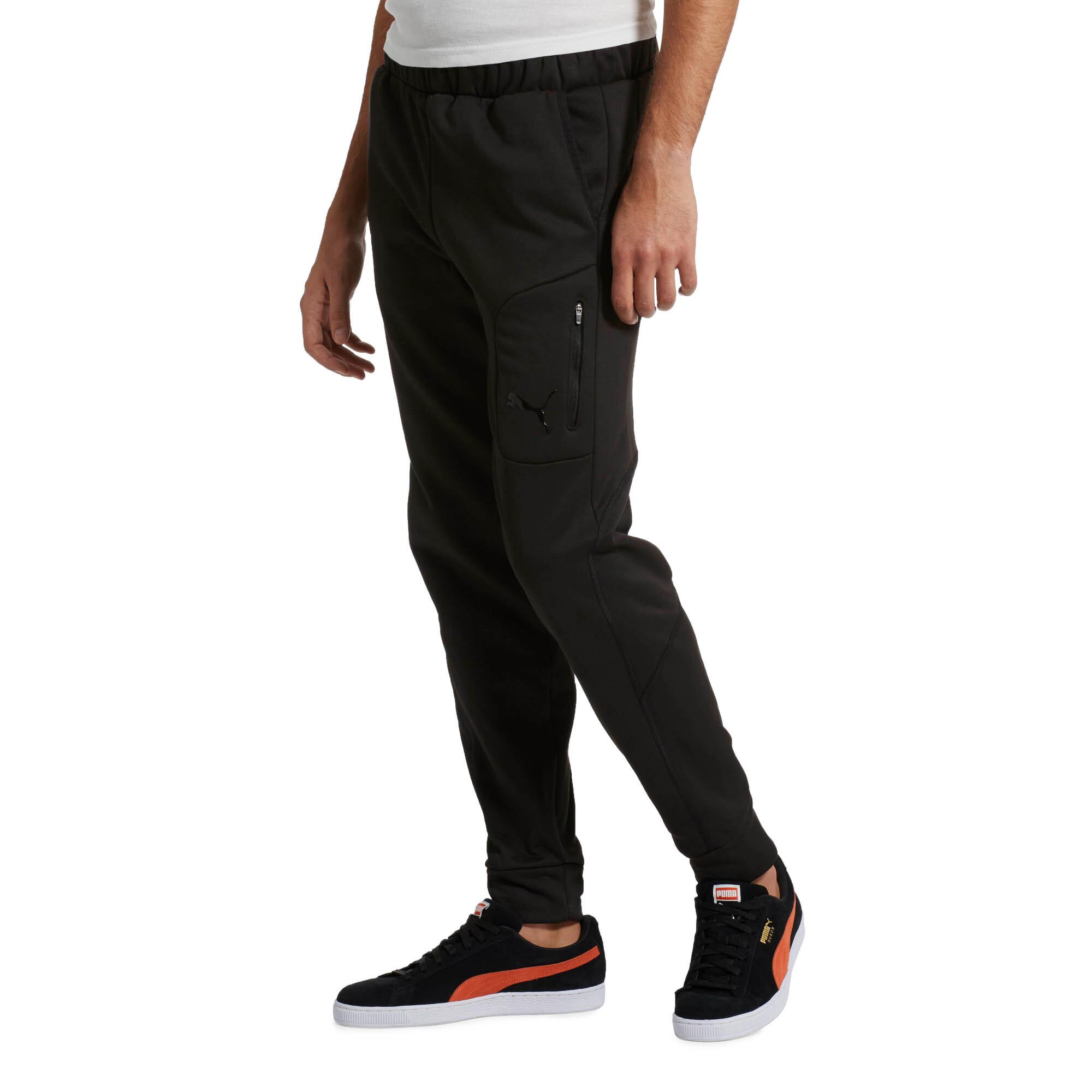 PUMA-Evostripe-Men-039-s-Warm-Pants-Men-Knitted-Pants-Basics thumbnail 7