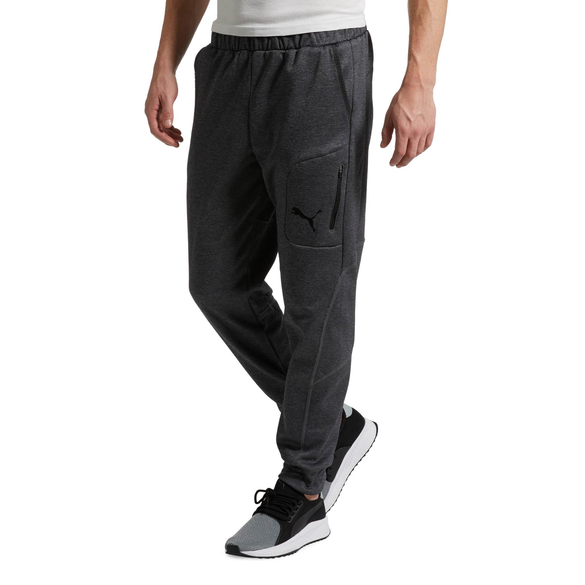 PUMA-Evostripe-Men-039-s-Warm-Pants-Men-Knitted-Pants-Basics thumbnail 4