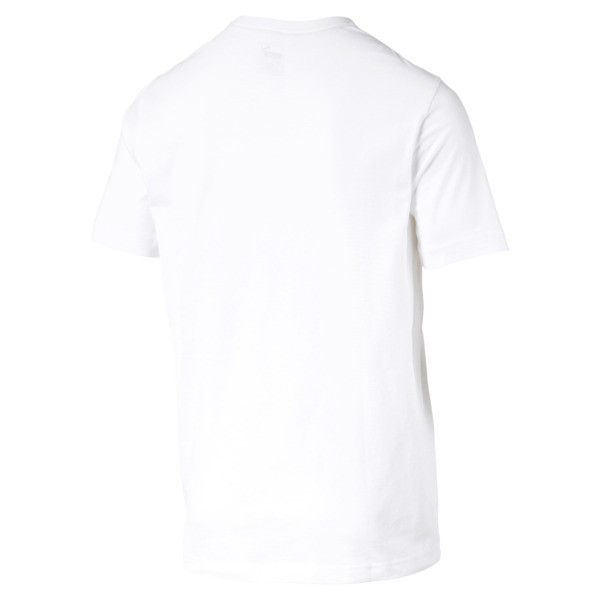 Essentials Short Sleeve Men's Tee, Puma White, large
