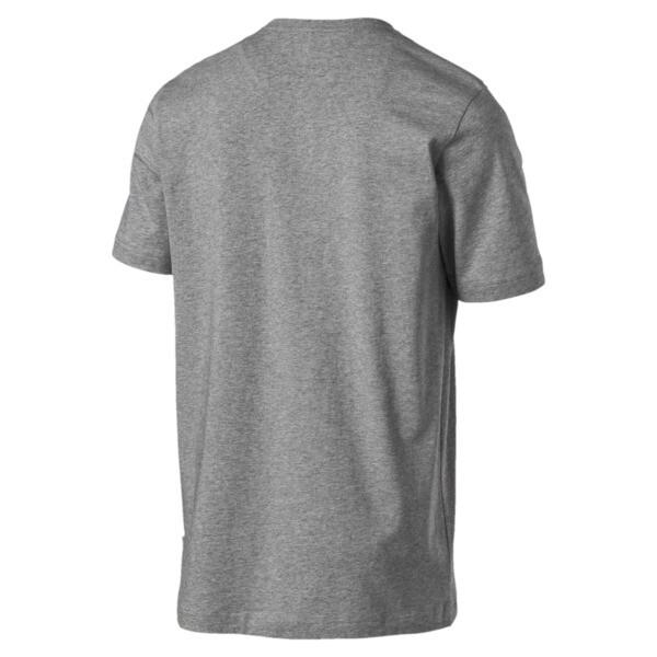 Essentials T-shirt met korte mouwen voor mannen, Medium Gray Heather, large