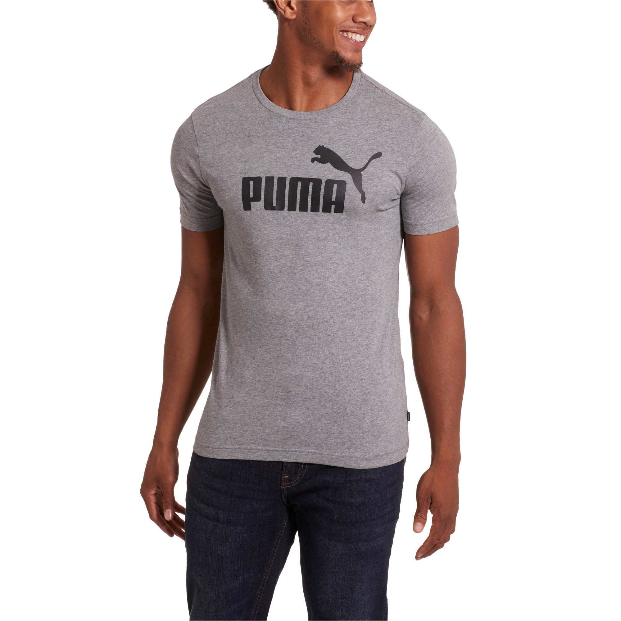 PUMA-Essentials-Men-039-s-Tee-Men-Tee-Basics thumbnail 15