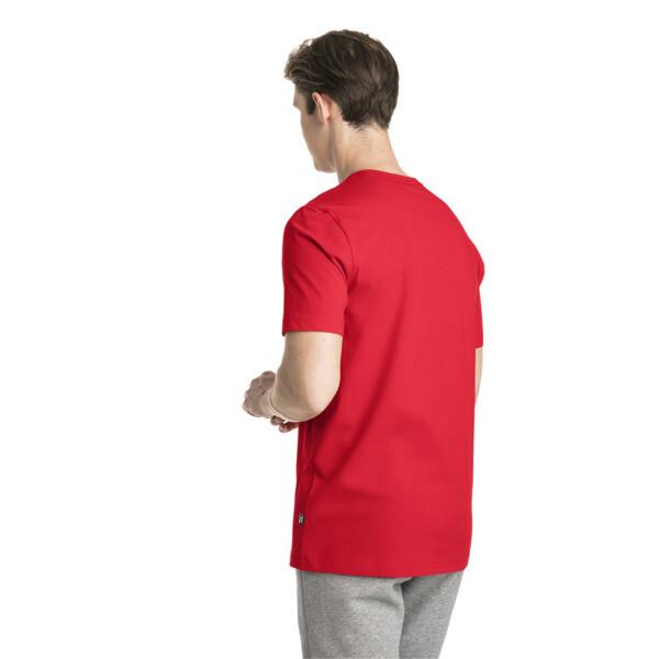 Essentials Short Sleeve Men's Tee, Puma Red, large