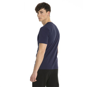 Thumbnail 2 of Essentials Short Sleeve Men's Tee, Peacoat, medium