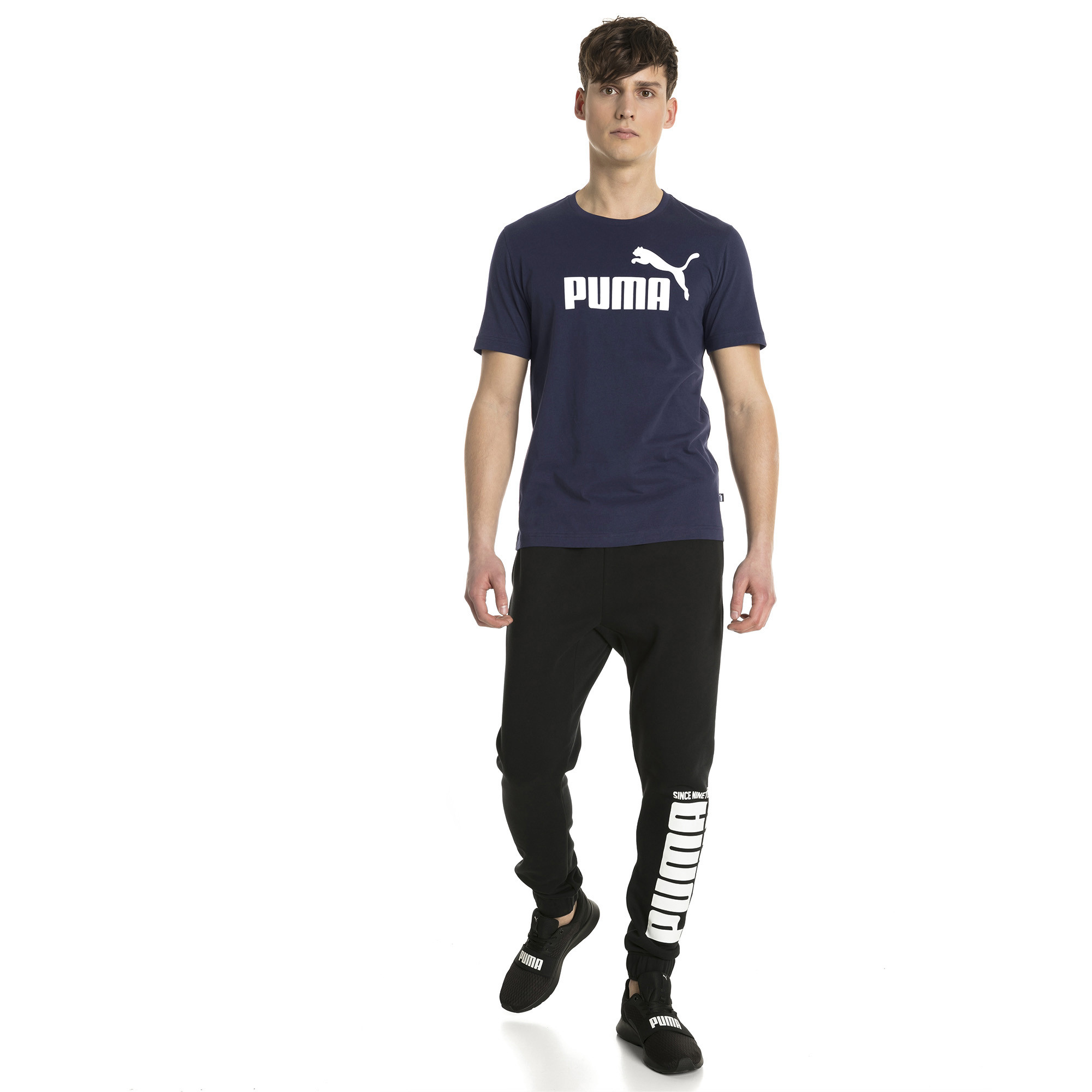 Image Puma Essentials Short Sleeve Men's Tee #3